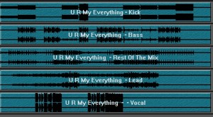 Stem Mastering Sebastian Bronk – U R My Everything - Digital